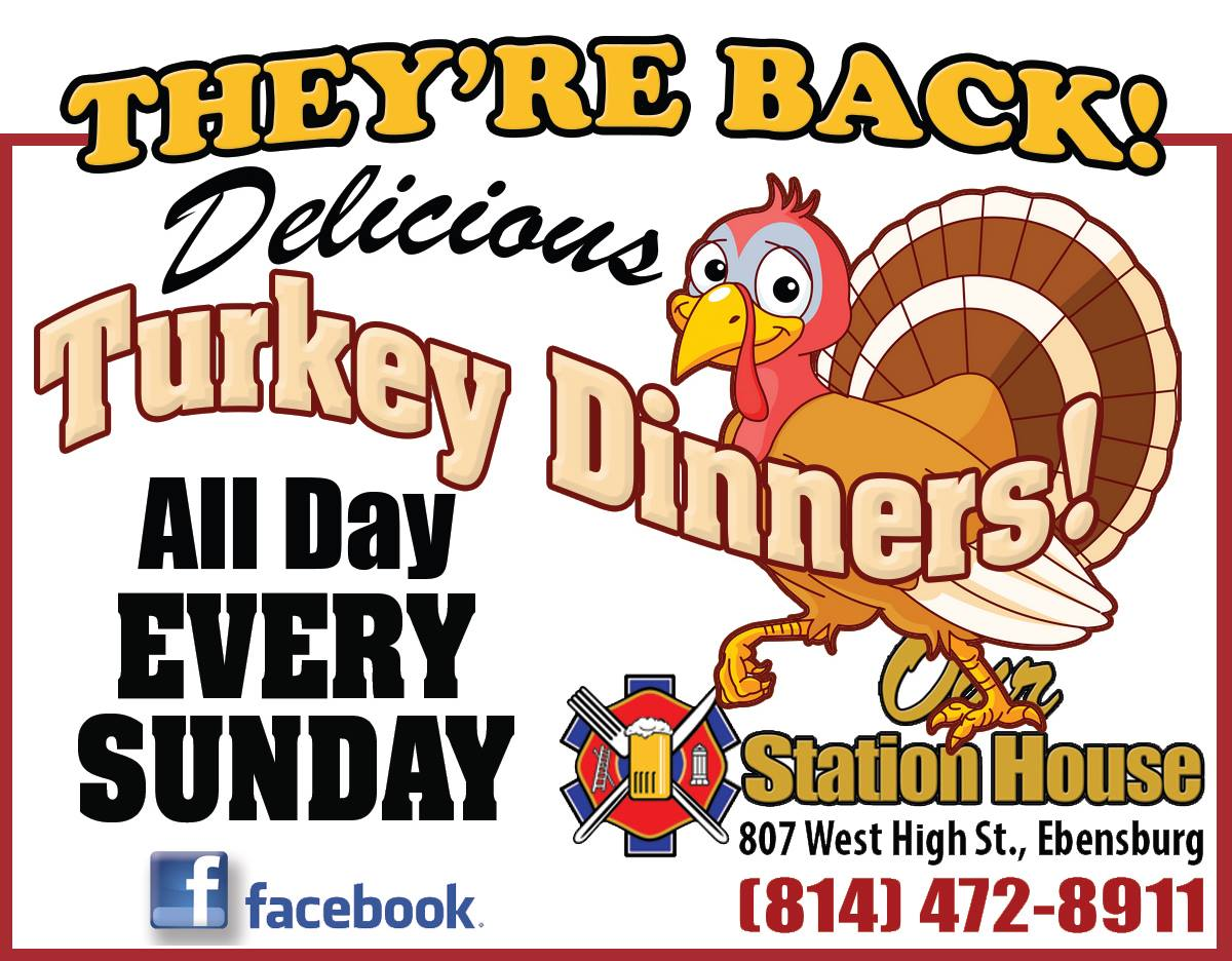 Our Station House Turkey Dinners
